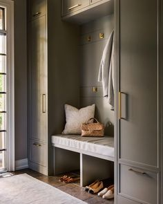 Mudroom Laundry Room, Residential Interior Design, Custom Homes, Building A House, New Homes, House Design, Pantry, Home Decor, Entryway