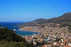 Vathy, Capital of Samos Island, Greece