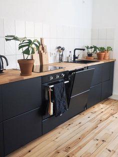 Ikea Kitchen Cabinets, Kitchen Cabinet Colors, Ikea Metod Kitchen, Kitchen Drawers, Kitchen Sinks, Kitchen Storage, Kitchen Interior, Kitchen Decor, Kitchen Design