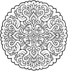 29 Free Printable Mandala Colouring Pages - Canada Arts Connect ...