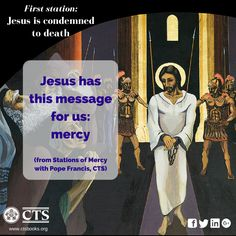 First station of #Mercy #Lent2016 #Cross