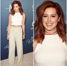 Ashley Tisdale red hair inspiration