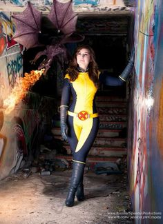 #Cosplay #Mutant: Kitty Pryde - Jessica LG - Photo Edits I've done