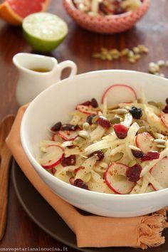 Insalata agrodolce di finocchioe  ravanelli_Taste&More