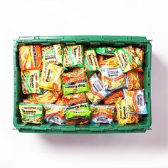 FYI you can fit 157 ramen packets in a MakeSpace bin (basically enough to feed a college kid for an entire semester)