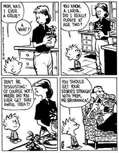 Best Funny Love Quotes For Boyfriend Hilarious Brother Ideas Comics Und Cartoons, Fun Comics, Funny Cartoons, Snoopy Comics, Calvin And Hobbes Quotes, Calvin And Hobbes Comics, Funny Jokes To Tell, Funny Texts, Hilarious
