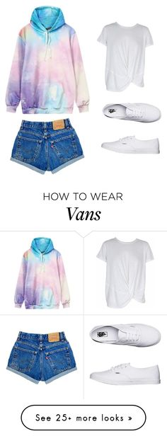 """Summer"" by kara-lavon on Polyvore featuring Vans and MINKPINK"