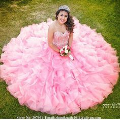 Find More Quinceanera Dresses Information about Vestidos de 15 anos Pink Quinceanera Dresses 2015 Sweetheart Cheap Quinceanera Gowns with Beads Corset Pink Organza Custom Made,High Quality dresses gowns uk,China gown ball dress Suppliers, Cheap gown picture from Romantic bride wedding dress Suzhou Co., Ltd. on Aliexpress.com