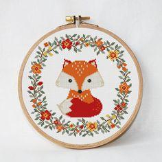 cross stitch fox에 대한 이미지 검색결과