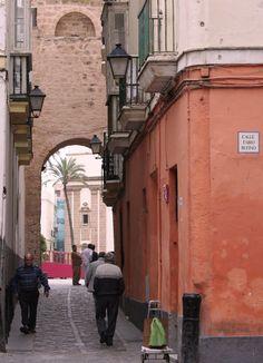 Calle Fabio Rufino- El Pópulo. Cadiz