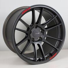 ENKEI Racing Revolution - GTC01RR (Concave), Matte Gun- metal .. this a special order wheel
