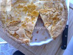 ΑΜΕΡΙΚΑΝΙΚΗ ΜΗΛΟΠΙΤΑ – Koykoycook Camembert Cheese, Diy And Crafts, Food And Drink, Pie, Sweets, Desserts, Torte, Tailgate Desserts, Cake