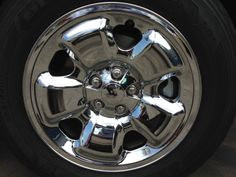 2014 Jeep Cherokee Chrome Wheel Skins