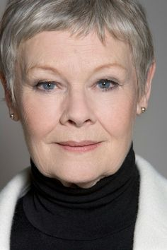Dame Judi Dench - don't you just love her. how is it that actresses of today are always splashed over the news in one scandal or another, but you never heard anything from the older stars lives. They just seemed to hold it together so much better or if not kept it out of the news