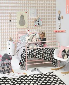 Adorable girl's room styled by Vanessa Nouwens in our Kids' Rooms Styling Special (Your Home and Garden magazine NZ)
