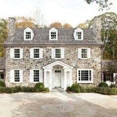 Habitual Design reminds me of Pride and Prejudice. Beautiful stone house.