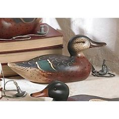 Wilderness Mallard Hen Wooden Duck Decoy