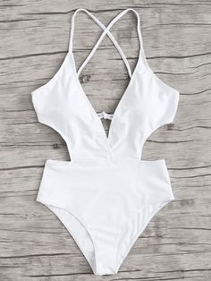 Swimwear Fashion, Bikini Fashion, Criss Cross, Honeymoon Attire, Modest Bikini, Bikini Outfits, Cute Bathing Suits, Summer Swimwear, Swimming Costume