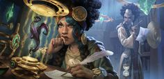 Fantasy Artwork, League Of Legends, Dreadlocks, Princess Zelda, Hair Styles, Painting, Beauty, Crescendo, Illustration