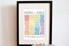 FREE Books of the Bible Printable