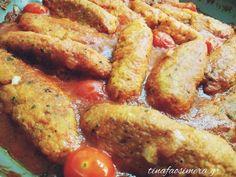 Σουτζουκάκια... ρεβυθιού! Vegan Vegetarian, Vegetarian Recipes, Yams, Greek Recipes, Food To Make, French Toast, Food And Drink, Yummy Food, Cooking