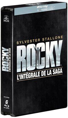 Rocky, les 6 films en un seul coffret blu-ray métal édition limitée