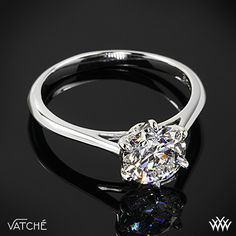 Felicity Solitaire Engagement Ring by Vatche with a 1.146ct A CUT ABOVE