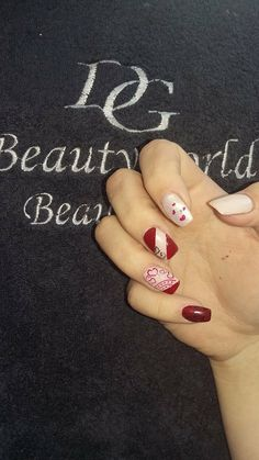 Nails for love.From Beautyworld Team