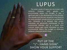 #Lupus . Help is closer than you think