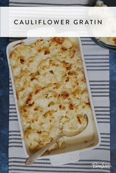 Cauliflower Gratin Is the One Side Dish You Need This Thanksgiving via @PureWow via @PureWow