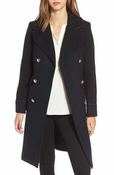 Main Image - Vince Camuto Double Breasted Utility Coat