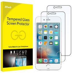 Price: (as of - Details) 810298028170 JETech iPhone Screen Protector, JETech Premium Tempered Glass Screen Protector Film for Apple iPhone 6 and Tela Do Iphone, Iphone Se, Best Iphone Screen Protector, Iphone Protector, Boutique Accessoires, Iphone 5s Screen, Bubble, Apple Iphone 6s Plus, Glass Film