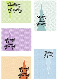 Free Thinking of Spring Printables for scrappystickyinkymess