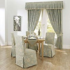 Classic Style Dining Room Chair Covers ~ http://lanewstalk.com/how-to-select-dining-room-chair-covers/