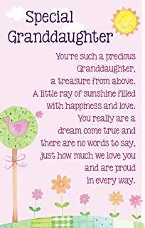 Granddaughter Birthday Card ~ Birthday Wishes Granddaughter Just for You ~ Modern Foil Flower Slim Card Happy Birthday Wishes Quotes, Birthday Poems, Birthday Messages, Grandaughter Birthday Wishes, Happy Birthday Grand Daughter, Birthday Verses For Cards, Birthday Card Sayings, Birthday Cards, Happy Birthday Verses