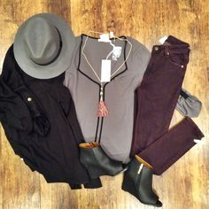 Who said work casual had to be boring?! Loving this whole look  Top: Item 1029BM2 Booties: Item 1029BM3