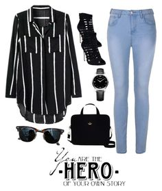 """Primsus #14"" by oktaeprimsus on Polyvore featuring Ally Fashion, Wet Seal, Kate Spade, Ray-Ban and Chopard"