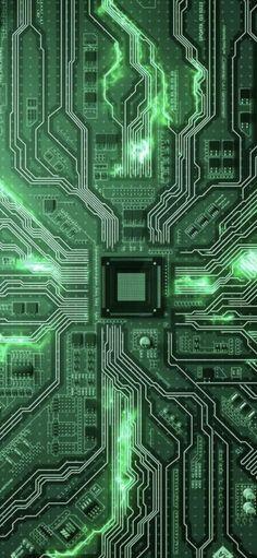 Art & Line Circuit Design Wallpaper in Blauer Hintergrund Hacker Wallpaper, Cool Wallpaper, Mobile Wallpaper, Galaxy Wallpaper, Wallpaper Backgrounds, Android Phone Wallpaper, Phone Screen Wallpaper, Bg Design, Tech Art
