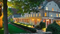 This Inn, owned by Richard Gere and his wife, Carey Lowell, looks so beautiful!
