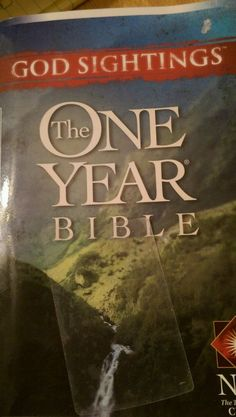 God Sightings: The One Year Bible: NLT 2004 Softcover #Bible