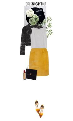 """""""Chanel"""" by dancingwithyou ❤ liked on Polyvore featuring Temperley London, Topshop Unique, MANGO, Kate Spade, Gianvito Rossi, Chanel, women's clothing, women, female and woman"""