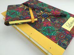 Bom dia!!! Mais um kit colorido para enfeitar a mesa ou escrivaninha... #presentepersonalizado #bookbinding #encadernação #kitpapeldasduas
