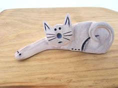 Clay Cat Handmade Cat Lover Gift Cat Gifts Christmas