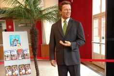 Arnold in Wax - Copyright: Madame Tussauds Hotel Services, Madame Tussauds, Suit Jacket, Breast, Suits, Formal, Wax, Style, Fashion