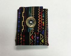 African Art Tea Wallet with purple dots - Edit Listing - Etsy