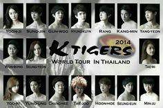 k tigers