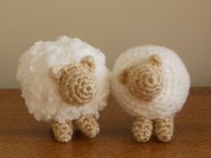 Sheep #1 and Sheep #2 Here are the previous nativity patterns: Mary and baby Jesus, Joseph, Angel. Sheep...