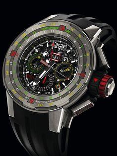 SIHH 2014: Richard Mille - RM 60-01 Regatta Flyback Chronograph