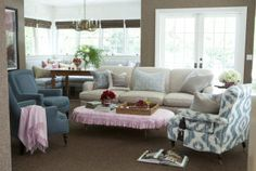 Romantic Home Decor Ideas - Pictures of Romantic Decorating by Windsor Smith