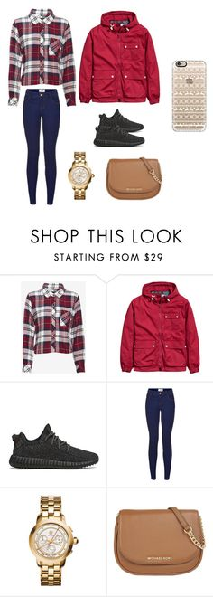 """""""School close"""" by alyissa-narvais ❤ liked on Polyvore featuring Rails, adidas Originals, Tory Burch, MICHAEL Michael Kors, Casetify, women's clothing, women's fashion, women, female and woman"""